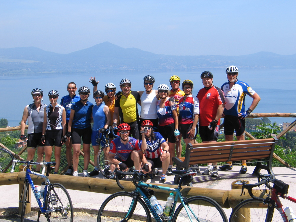 bike tour in italy