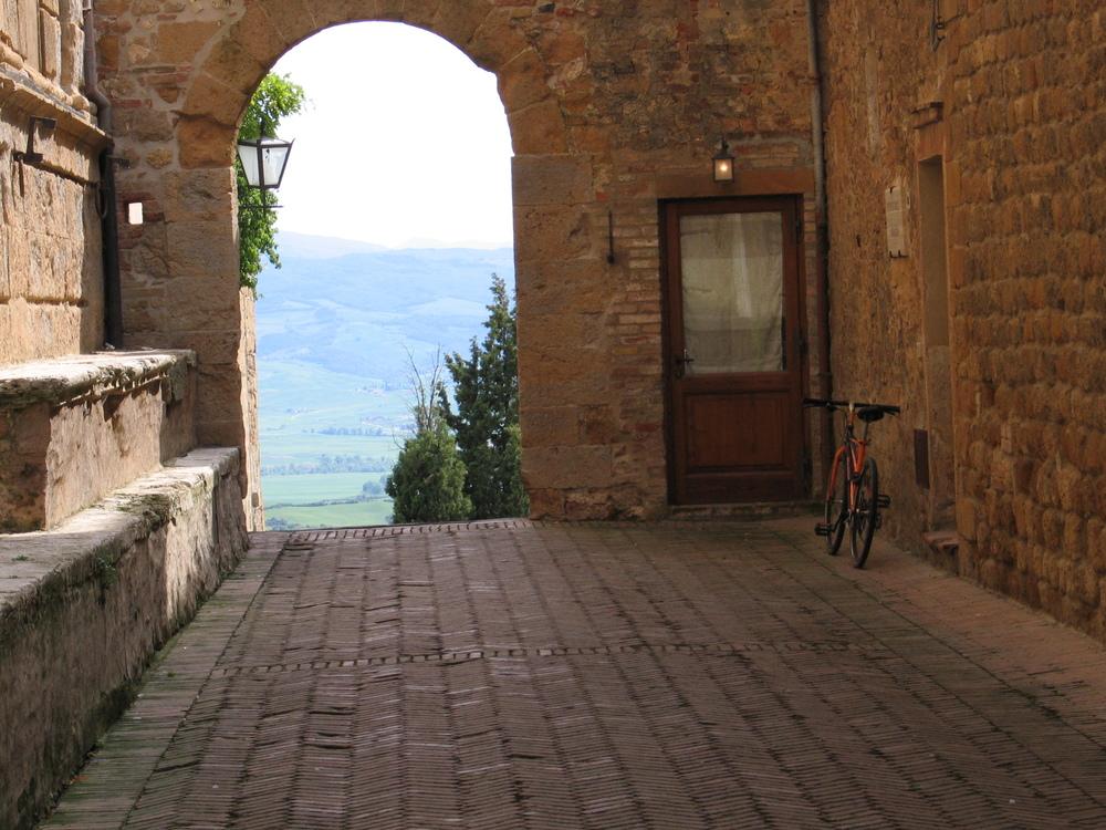 pienza bike tour