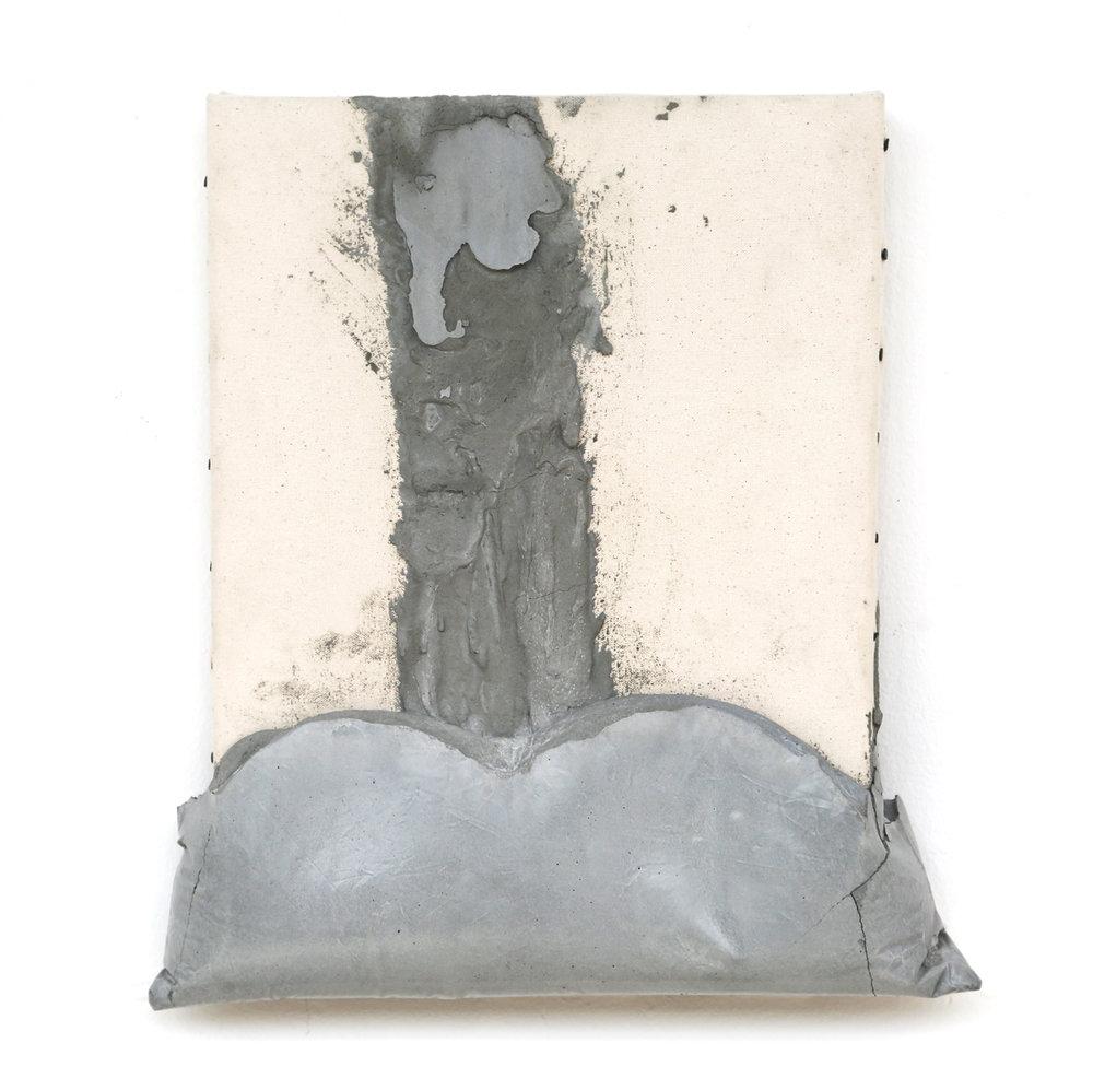 Concrete on Canvas, 16 x 20, 2018