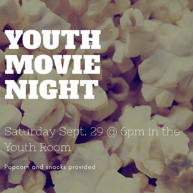 Come on out for movie night!