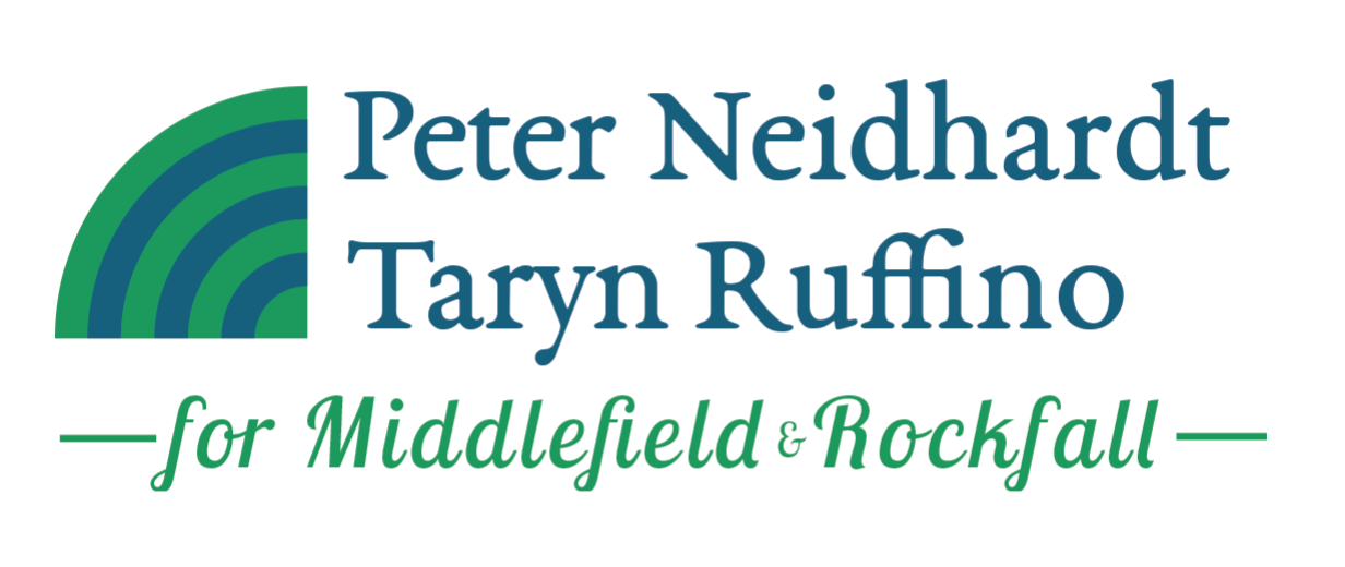 Peter & Taryn for Middlefield & Rockfall