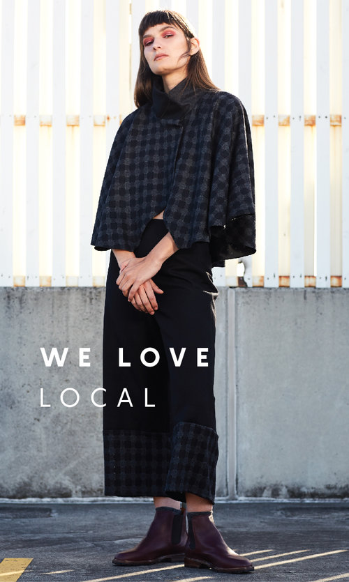 - Shopping local has always been importantto the keegan label. The vast majority ofour materials are purchased throughAustralian suppliers & our buttonholing,eyeleting & laser cutting for our garments,are outsourced within Melbourne.Our knitwear is produced through acollaboration with knitter Tanja Kozub. Eachpiece is hand-crafted in her Mornington Peninsula studio in small numbers & delivered in person to our stores.We love celebrating Australian design& stock a careful selection of Melbournejewellery & footwear labels in store. Why not pop in and meet the people who make your clothes today!