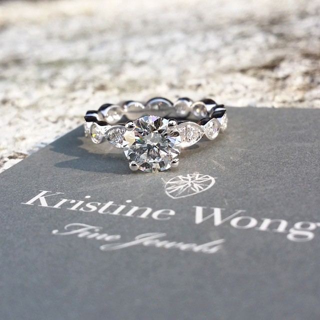 No better way to start the weekend than to news of another successful engagement with this 1.40ct beauty. TGIF! #kristinewongfinejewels #kwfj #premium #colour #top #clarity #quality #collection #diamonds #finejewels #luxury #nofilter