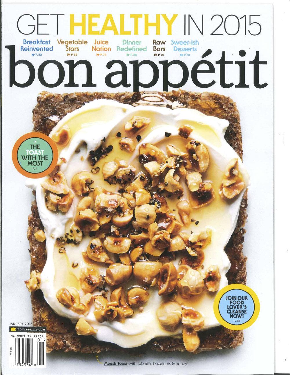Bon Appetit 2015