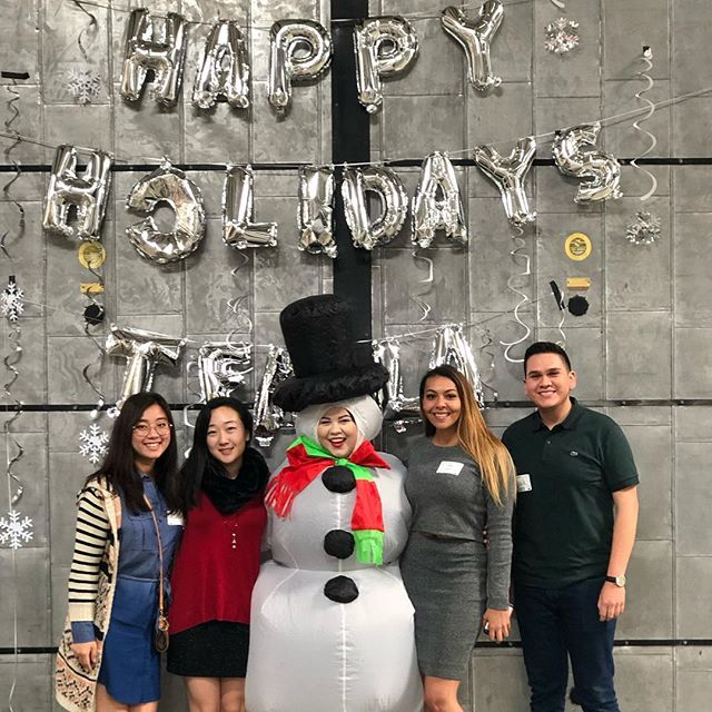 This weekend, we commemorated the end of the semester with our first-ever Corps Member Holiday Brunch! 🍳🥂Thank you to all of our educators for coming together to share some laughs, mimosas, and some holiday cheer before the break! Congrats on a great semester everyone! 😉#onedayla #tfala #teachforamerica