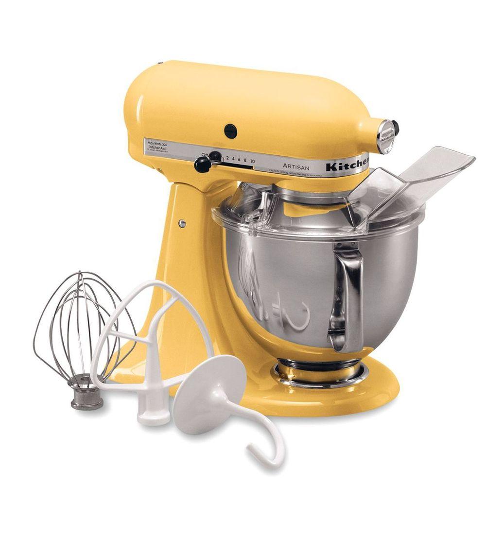 Kitchenaid Artisan Majestic Yellow Kitchen Mixer