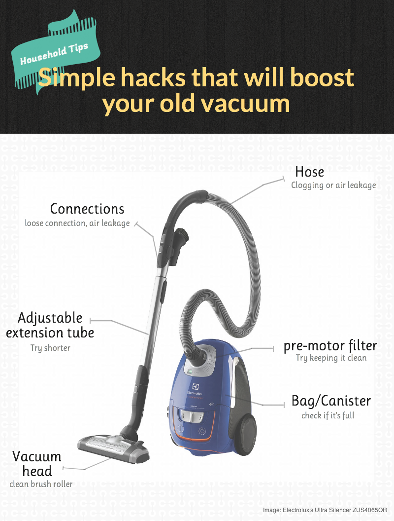 How to boost old vacuum