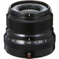 Fujifilm XF 23mm f2 WR Lens - This lens is equivalent to a 35mm lens on a full frame camera. It's large aperture allows the lens to shoot in low light and provide a shallow depth of field. This thing is light, so light that i some times forget it's on my camera!