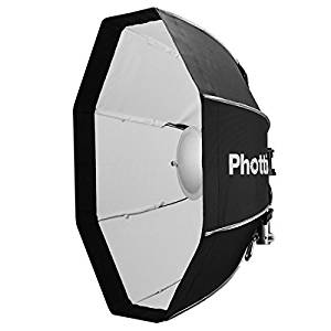 Phottix Spartan 27inch Beauty Dish - the light output on this is second to none, I often use it on the road with my dual speed light setup.  - Yes, this fell down the California cliff with the speed light.  No tears, and nothing a little bending can't fix.  Love this modifier.