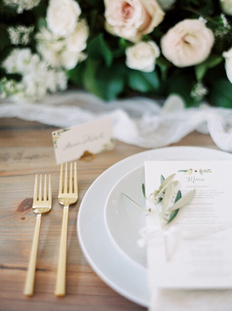Pastel Southern Wedding featured on Style Me Pretty