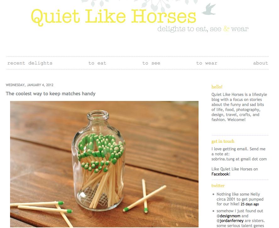 Quiet Like Horses