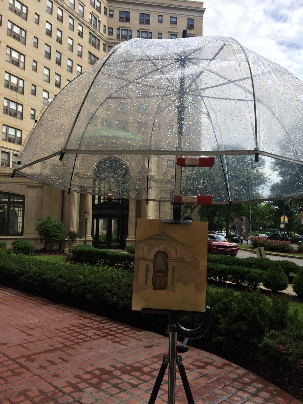 Day ten. Thank you umbrella!