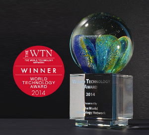 WORLD TECHNOLOGY AWARD WINNER -