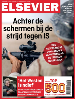 FEATURED IN ELSEVIER MAGAZINE -