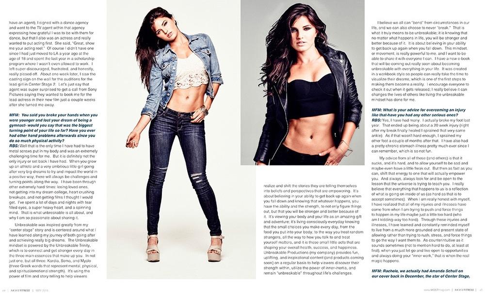 Rachele Brooke Smith - Most Magazine