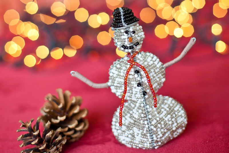 Snowman Christmas Decoration Handmade