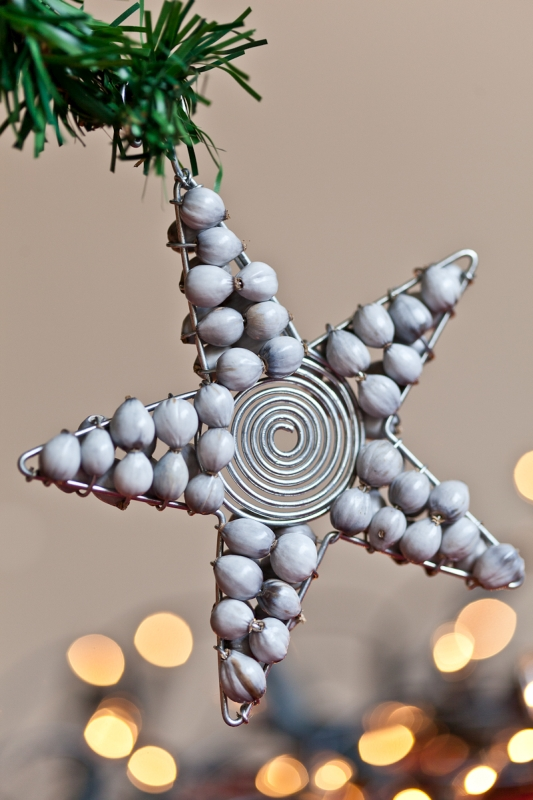 Star Christmas Tree Decoration Handmade