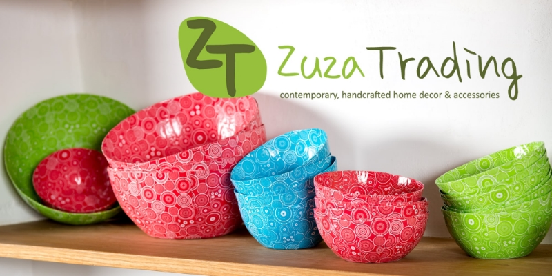 Home Decor - Range of Funky colour Paper Art Bowls