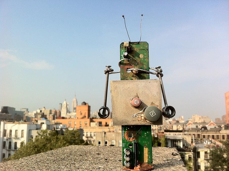 """1"""" x 1"""" Robot"""