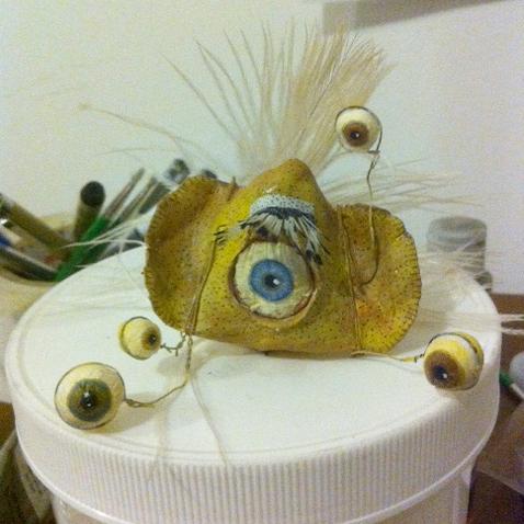 Many-eyed monster