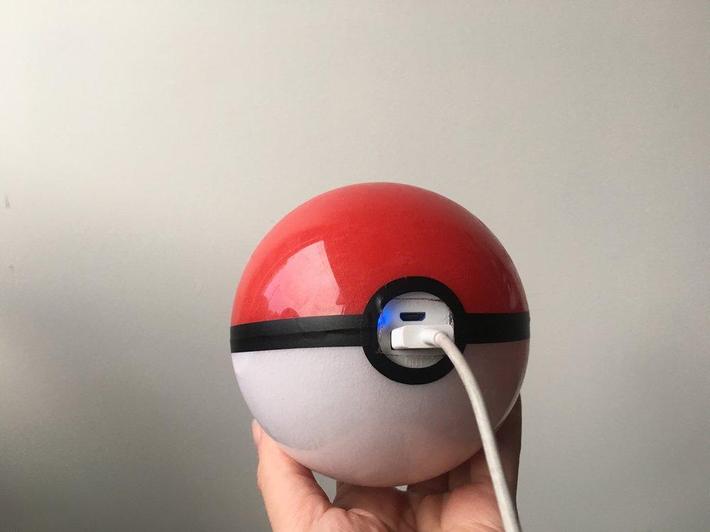 Pokeball-themed battery. [No longer for sale.]