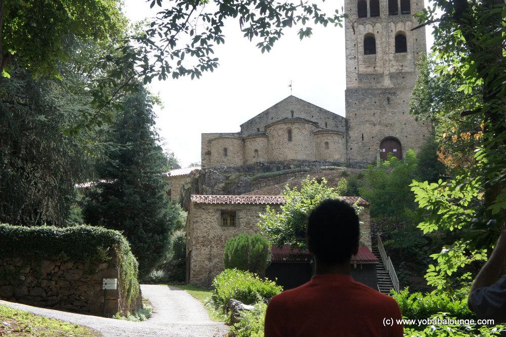 Abbay St Martin du Canigou