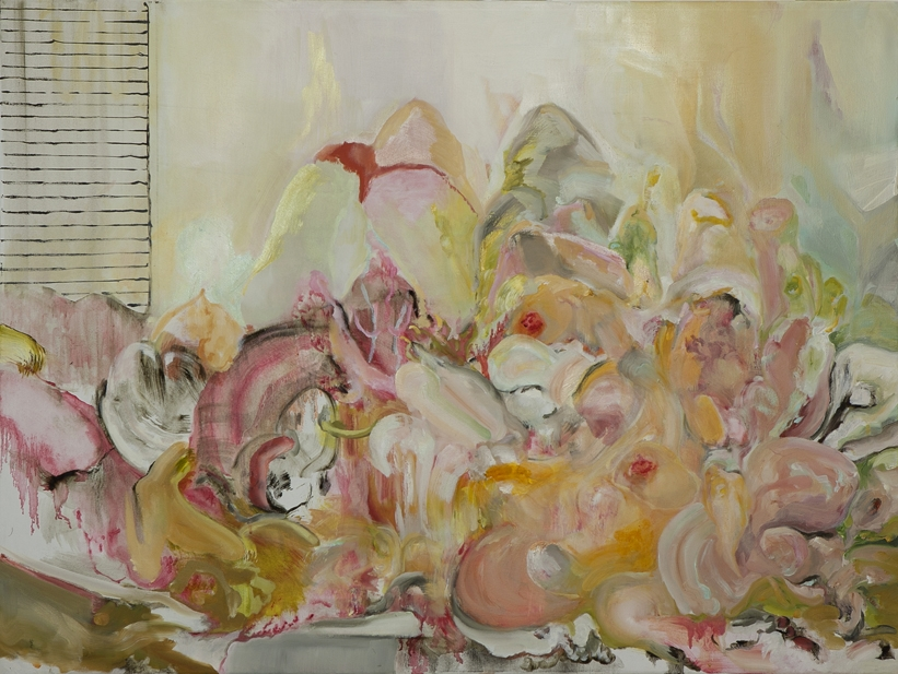 Orgy, Oil on Linen, 100 x 75 cm