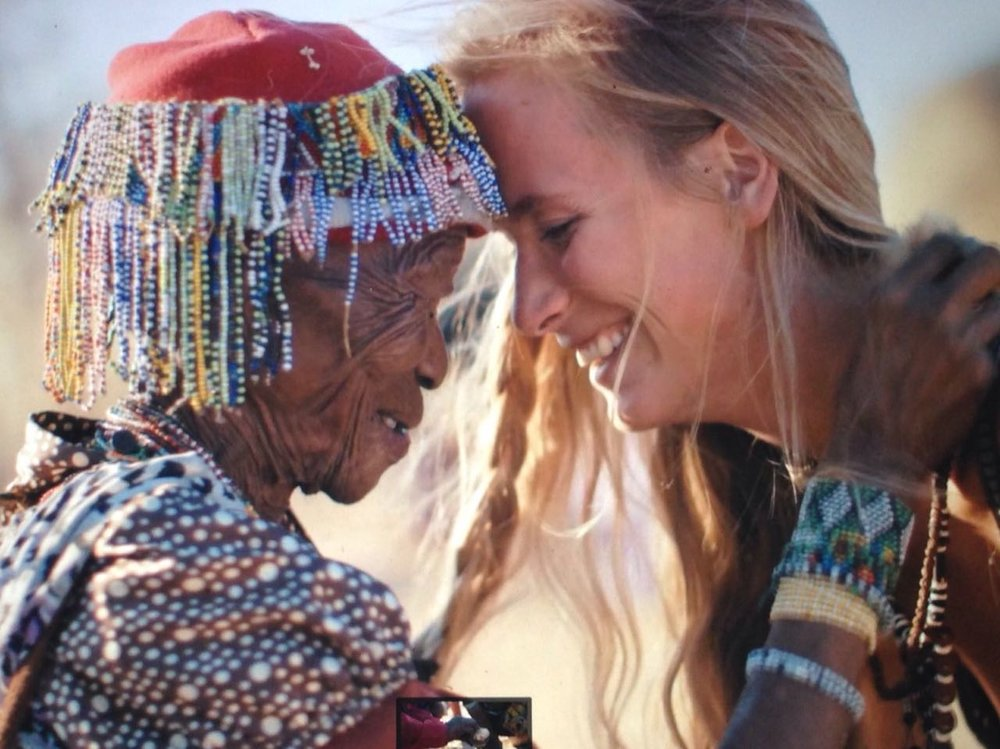 "OTPYM invite you to participate in an interactive conversation   with model and CEO/Founder of Nanofasa Conservation Trust,   Aleksandra Orbeck-Nilssen about:    ""Women Making a Difference"""