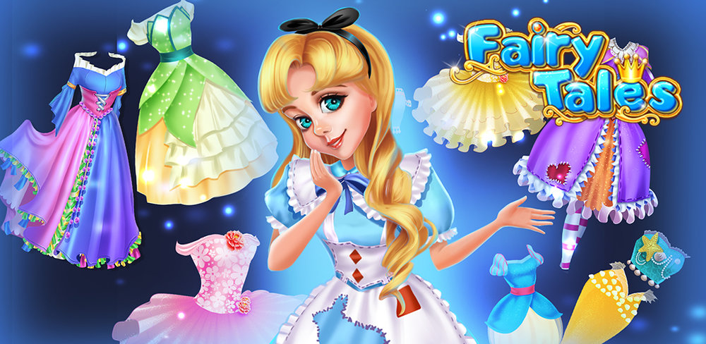 FAIRY TALES SALON - DREAMY SPA  Are fairy tales your favorite stories? You get to be the pretty princess in your own magic story!