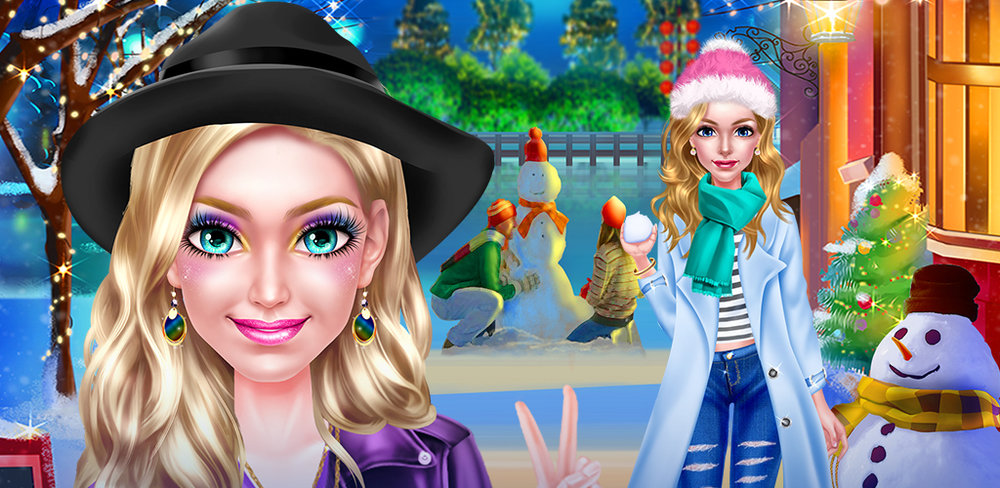 WINTER VACATION - BFF DRESS UP  Winter is here! After all those warm months of sun dresses and tank tops, you can finally bring out those cute cold weather fashions you've been waiting to wear. Your best friend even booked you a trip for two to the hottest winter resort ...