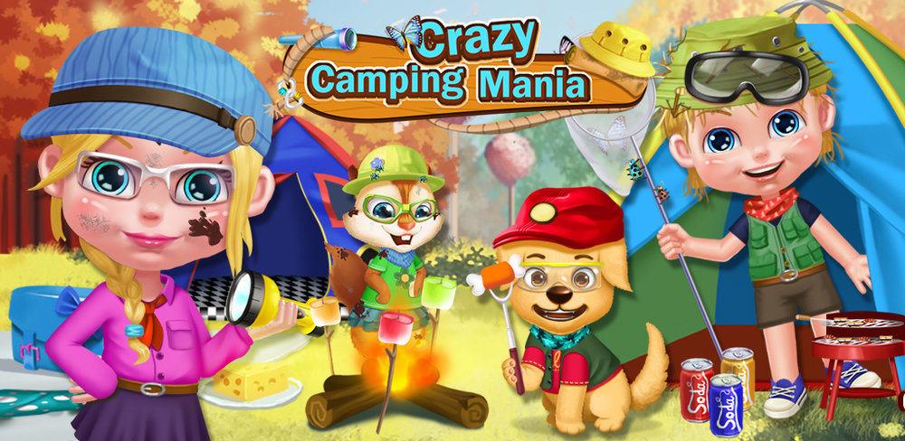 CRAZY CAMPING! MESSY SIBLING!  The birds are chirping, the sun is shining, and the adventure is about to begin! Winter has finally melted away and spring is here, so it's time to enjoy the great outdoors.