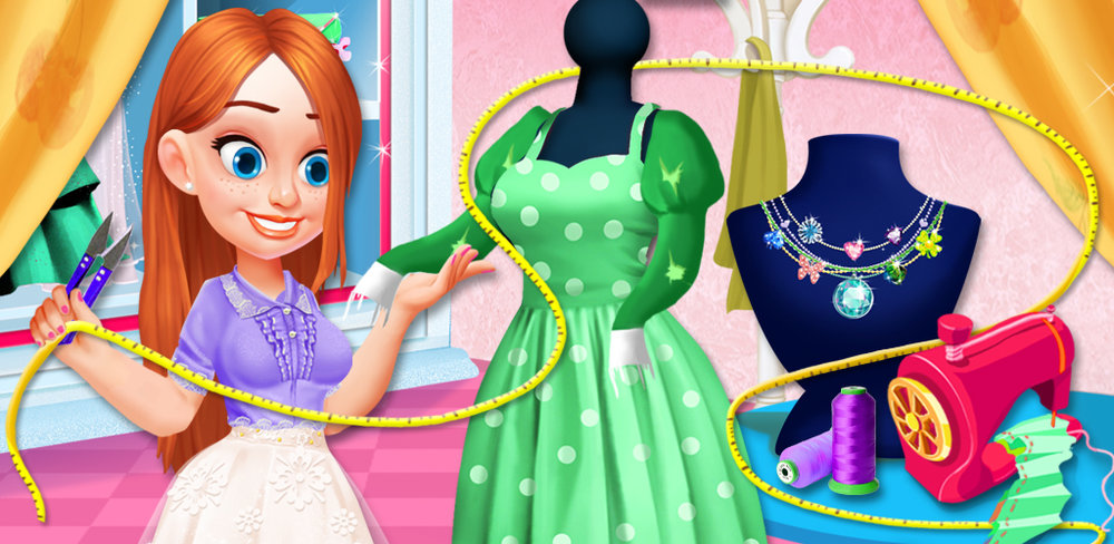 FASHION BOUTIQUE - DREAM SHOP  What an exciting job! Be your very own fashion designer in this Fashion Boutique - Dream Shop game where you can jump-start your own fashion career!