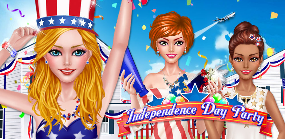 INDEPENDENCE DAY PARTY DRESSUP  It's Independence Day…the national holiday that allows us to celebrate the freedom of our great country!