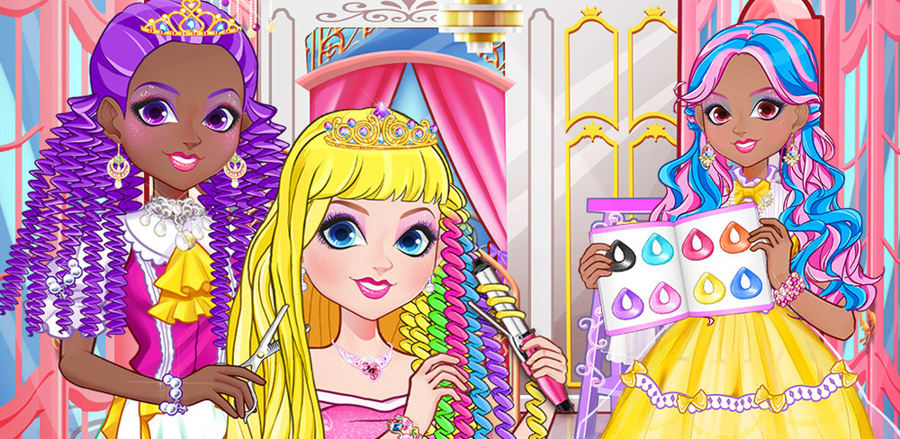 PRINCESS ROYAL HAIR SALON  The princess of the kingdom is well known for gloriously long hair, but she needs a new royal stylist. Are you up for the task of helping the most beautiful girl in the kingdom look more beautiful?