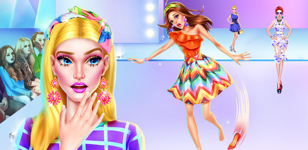 TOP MODEL SALON - FASHION STAR  Do you dream of being the nation's next top model? Well now is your chance in this fashion themed game where you'll have to compete against the other models to win the show and get your chance at celebrity!