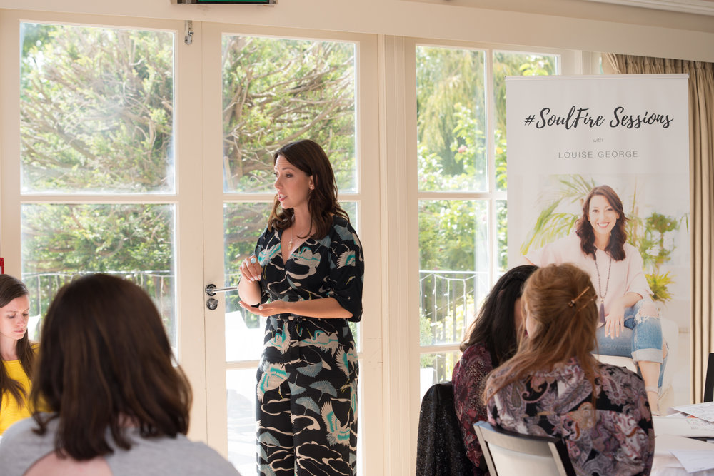 Work with Transformational Success & Speaker Coach, Louise George, in this leadership programme, to step into your power and purpose.  - Follow your #SoulFire™Make an impact.