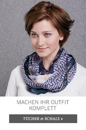 Tücher und Schals finden Sie in allen Abteilungen - passende Farben - cosy friends