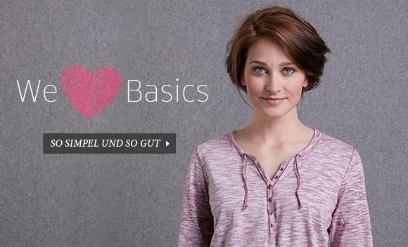 CECIL - We love BASICS - bei Schwenk immer aktuelle BASICS zum anprobieren!