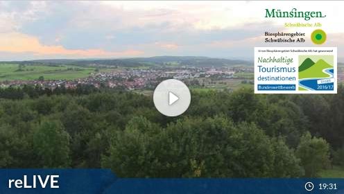 Livecam Rundsicht Münsingen-Hörnle im Albgut