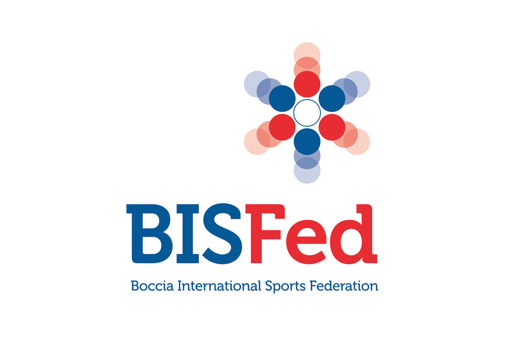 BISFed  Branding for Boccia International Sports Federation which promotes, enhances and supports the sport worldwide. Boccia is the Paralympic sport of wheelchair bowling.