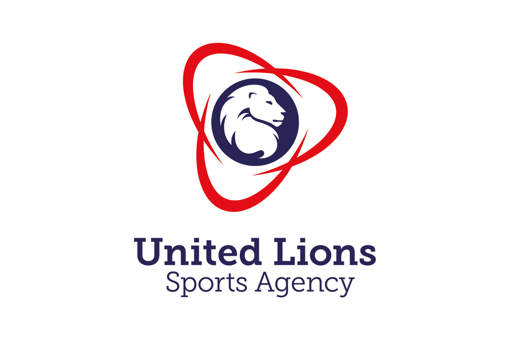 United Lions  Branding, stationery and promotional items for an international sports agency specialising in football.