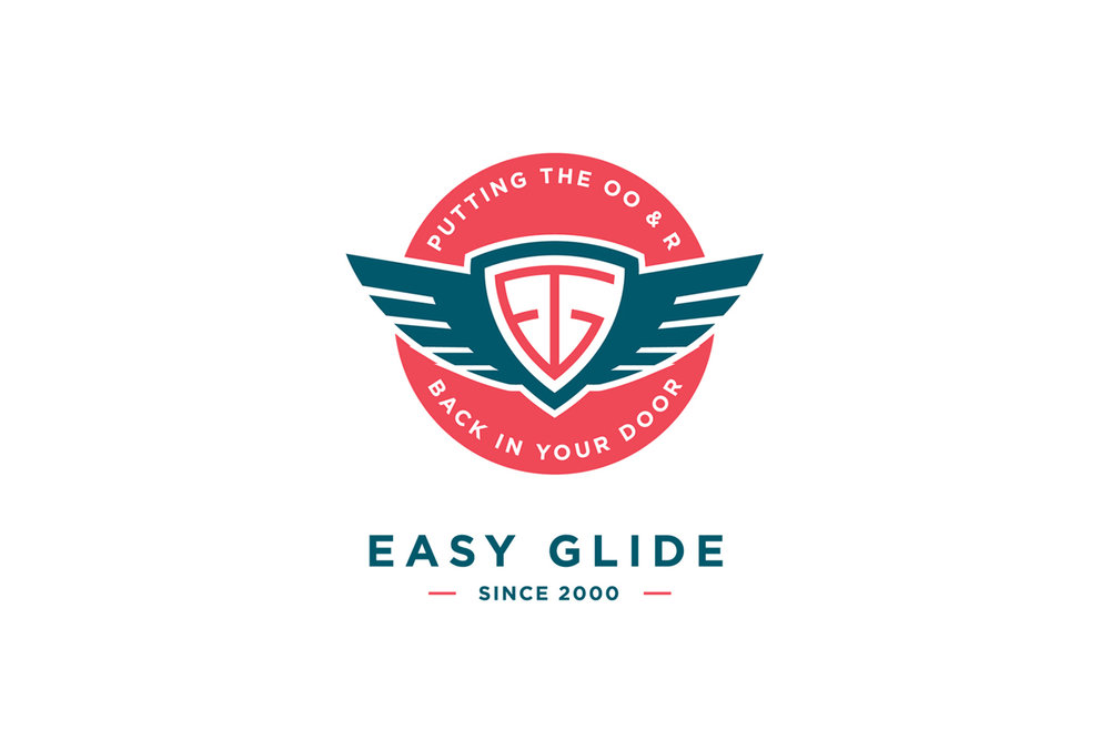 Easy Glide Australia  Branding design for a door refurbishment company based in Sydney, Australia.