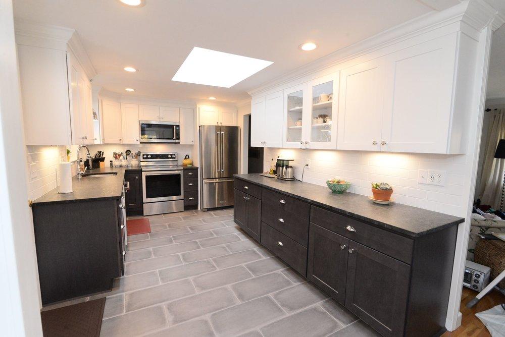 Kitchen Aid Appliances, Wolf Cabinates, Black Granite