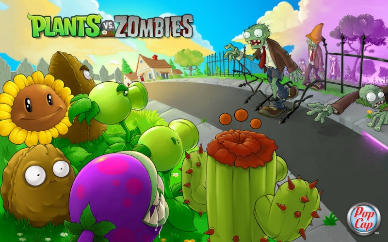 Plants vs. Zombies is a tower defense strategy game with a great sense of humour and innovative gameplay. It was a lot of fun to work on this game! If you're still out there, Crazy Dave, keep those plants watered.