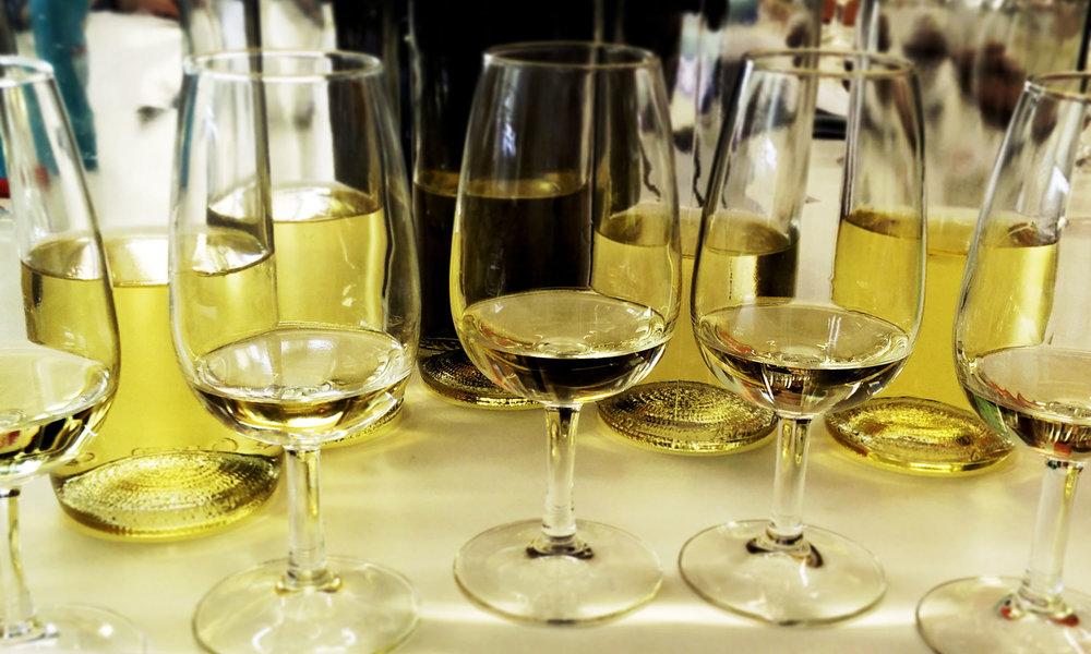 Wine tasting with James Flewellen