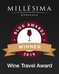Millesima blog awards winner 2019 for the Wine Travel Award - James Flewellen.