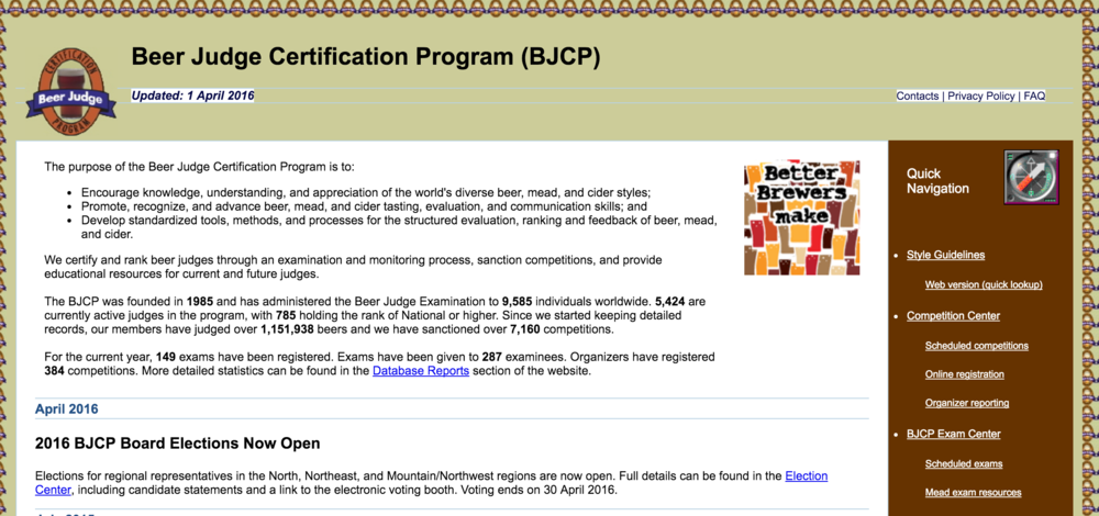 Click to view the official BJCP website circa 2003