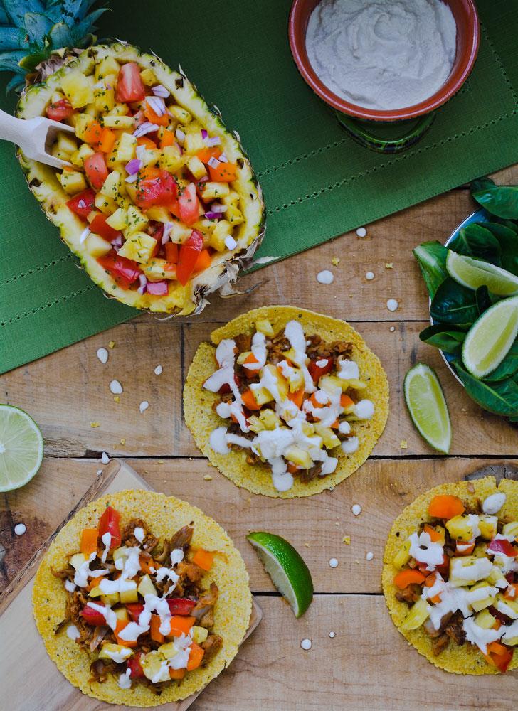 Jackfruit Tacos