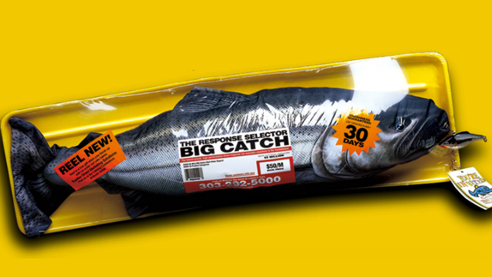 Stuffed Fish 3D Direct Mail