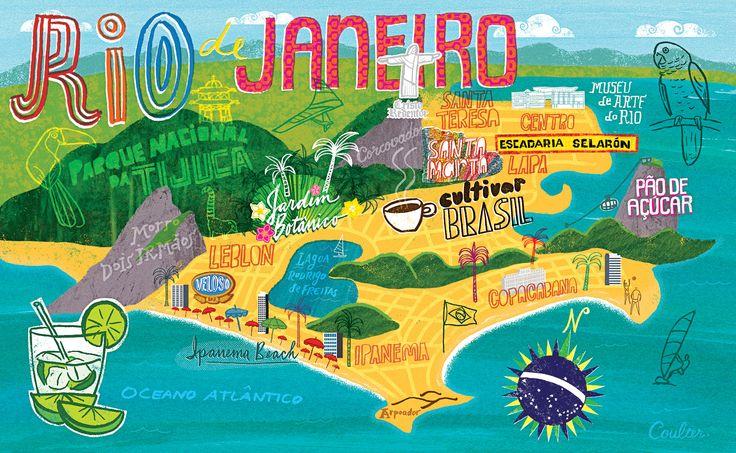 Things to Do Tatiane and Casey TatiandCasey – Tourist Map Of Rio De Janeiro